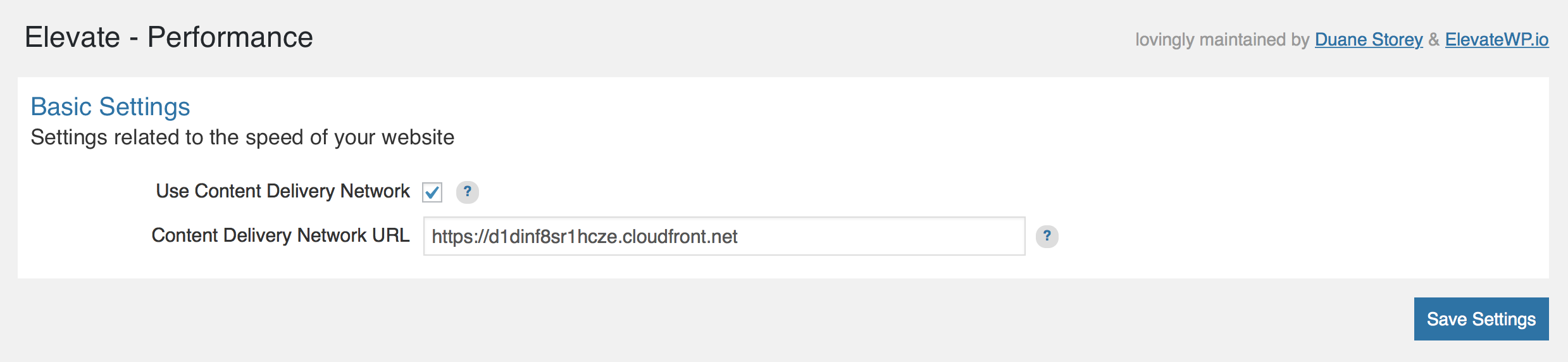 Configuring your CDN URL in Elevate